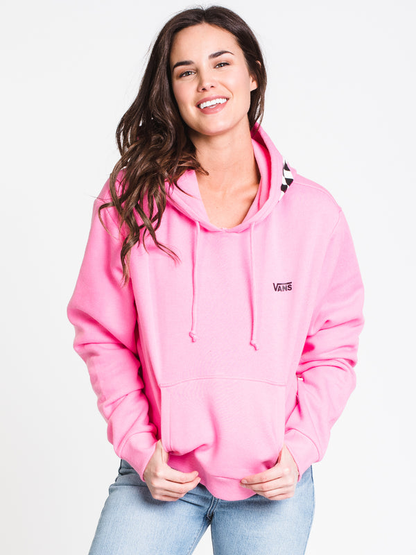 WOMENS CHECKING AROUND PULLOVER HOODIE - NPK