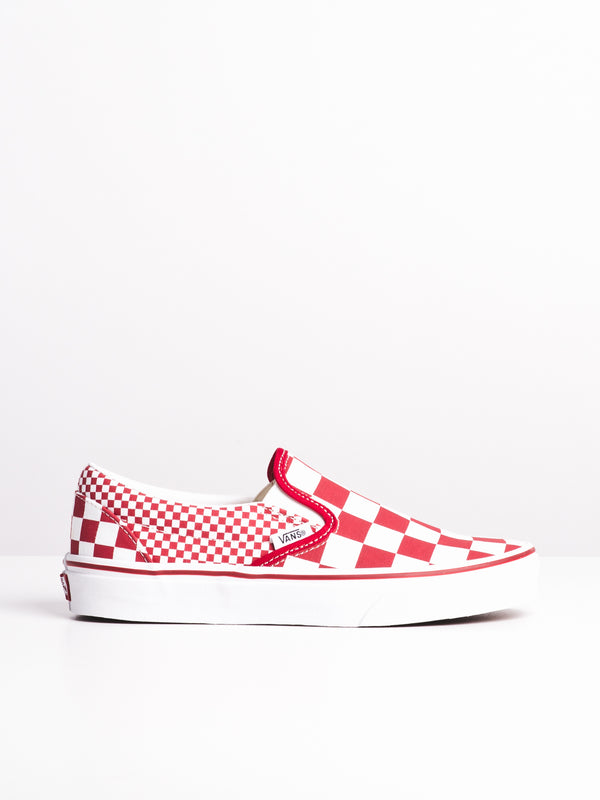 WOMENS CLASSIC SLIP ON - MIXED CHECK