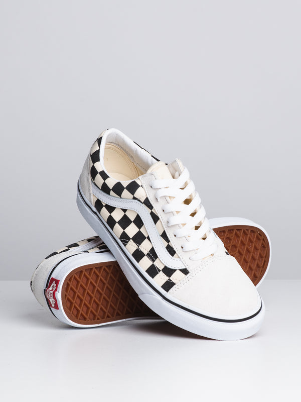 WOMENS OLD SKOOL - CHECKERBOARD