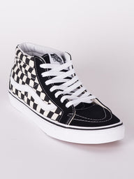 MENS SK8 MID REISSUE CHECKER SNEAKERS