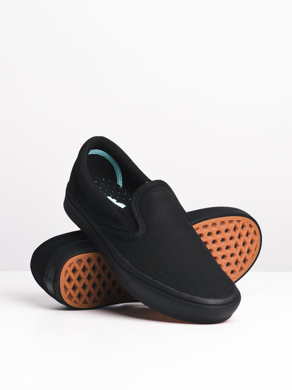 WOMENS COMFYCUSH SLIP ON - BLK/BLK