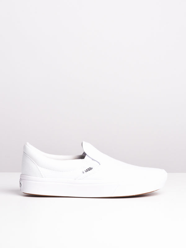 WOMENS COMFYCUSH SLIP ON - WHITE