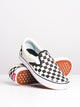 WOMENS COMFYCUSH SLIP ON - CHECKER