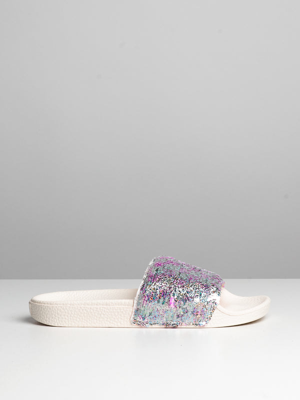 WOMENS SLIDE ON - FLIPPING SEQUINS