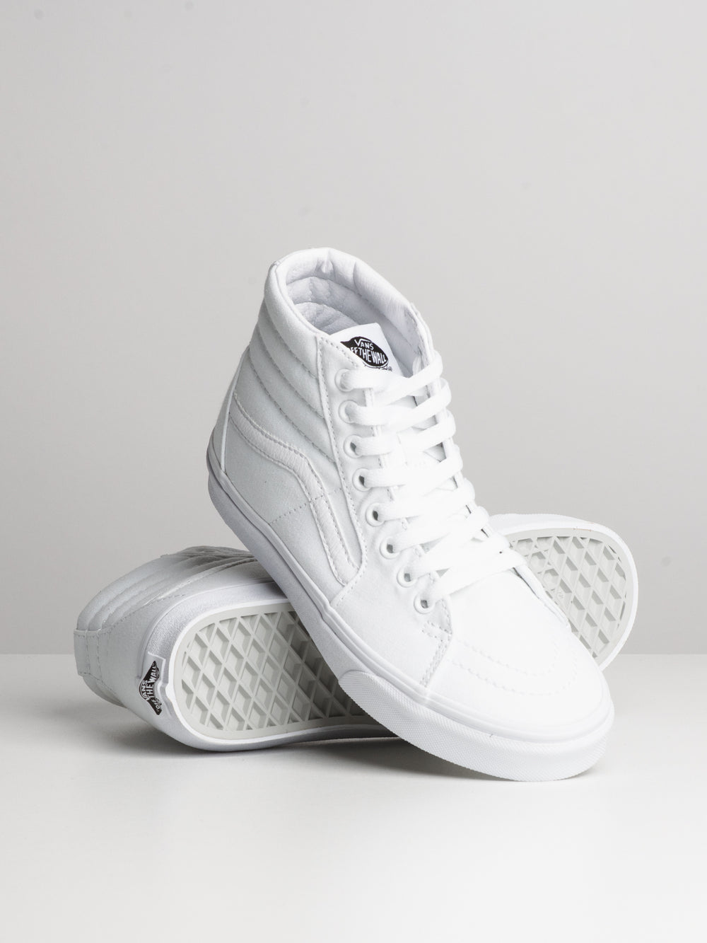 WOMENS SK8 HI - TRUE WHITE