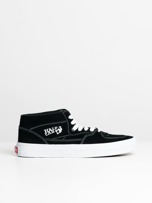 MENS HALF CAB BLACK SNEAKERS