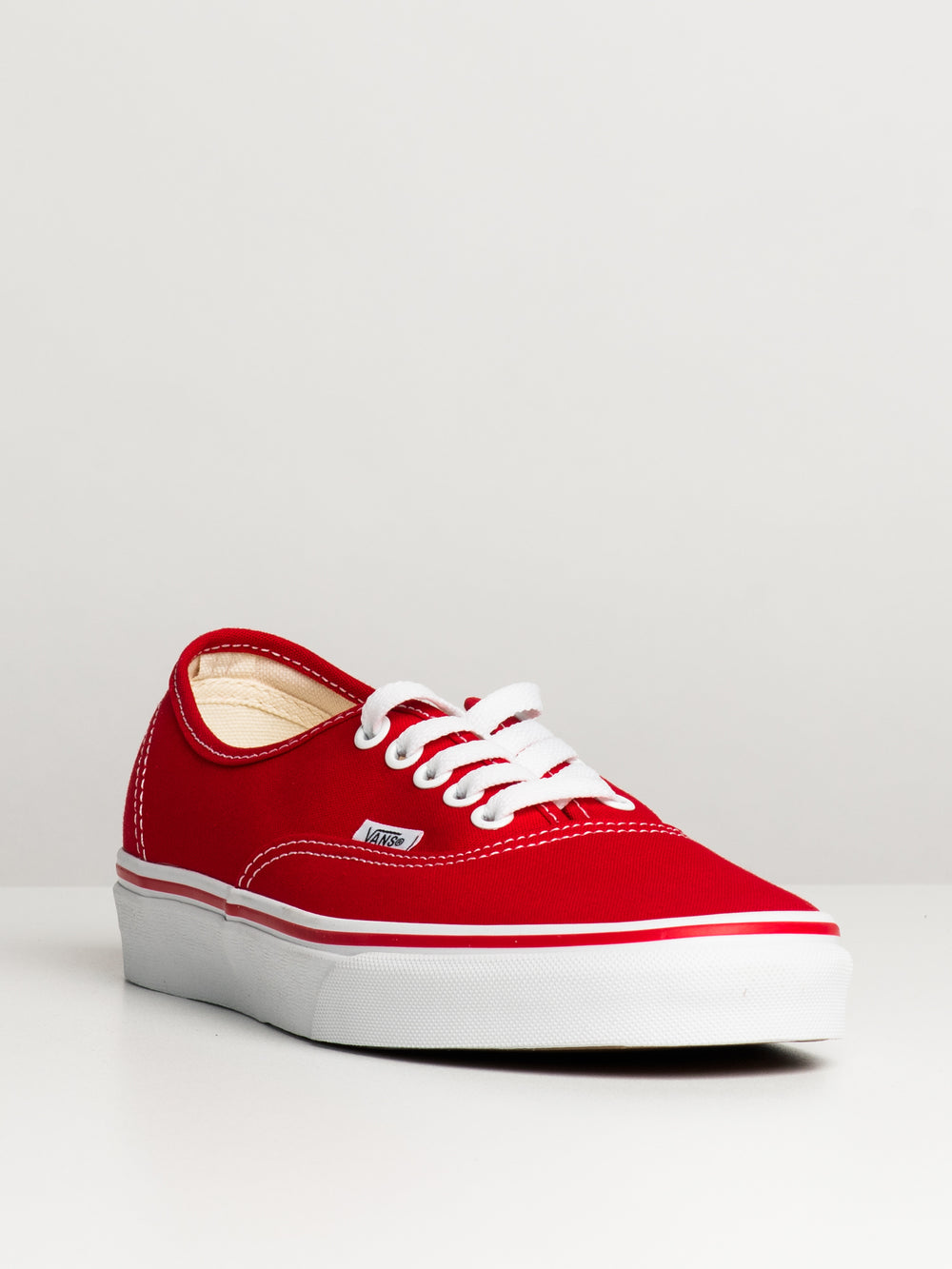 MENS AUTHENTIC RED CANVAS SHOES SNEAKER