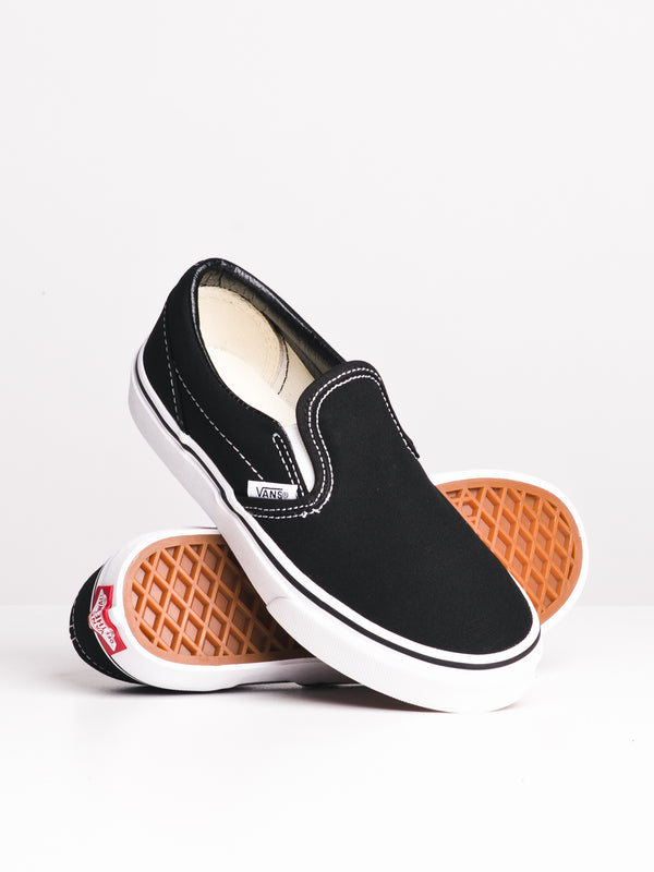 KIDS CLASSIC SLIP ON - BLACK/WHITE