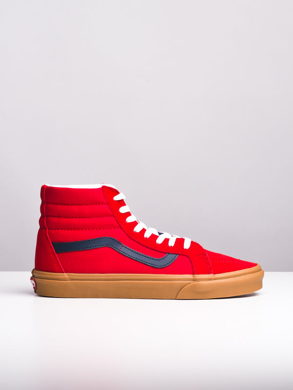 MENS SK8 HI REISSUE - RED/BLUE