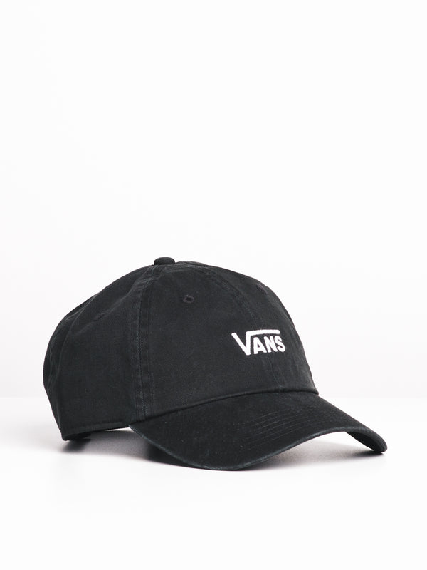 COURT SIDE HAT - BLACK/WHITE