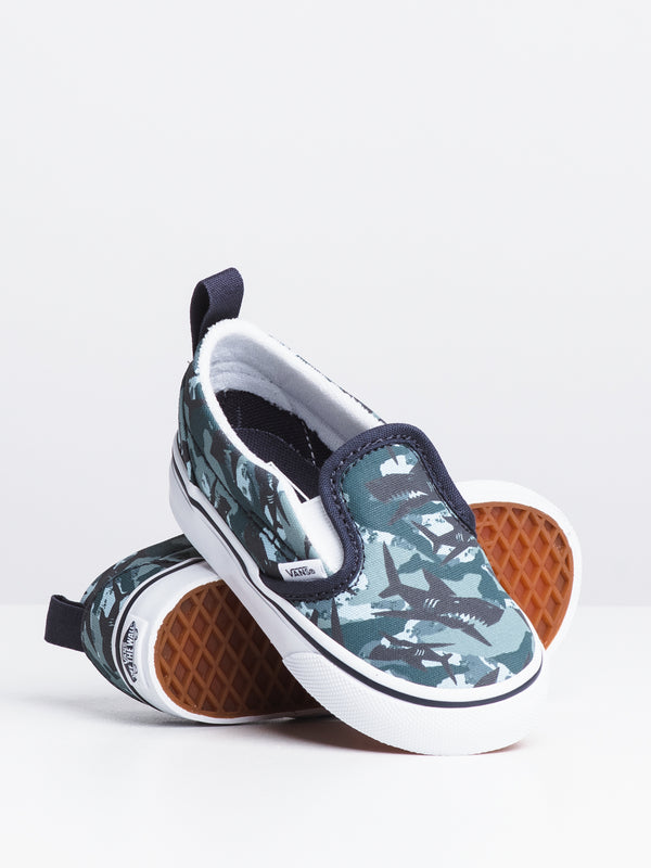 KIDS SLIP ON V - ANIMAL CAMO