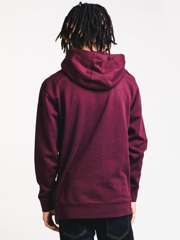 MENS FULL PATCH STITCH PULLOVER HOOD