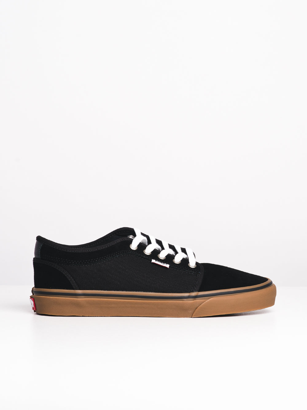 MENS CHUKKA LO BLACK/GUM SNEAKERS