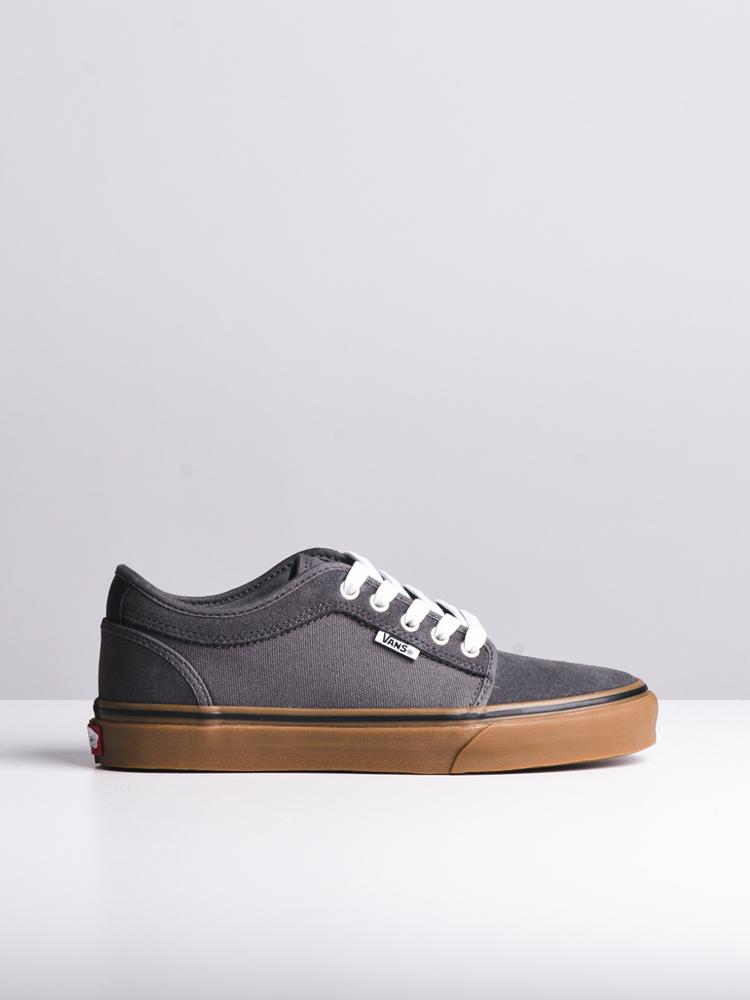 MENS CHUKKA LO PEWTER/GUM SNEAKERS