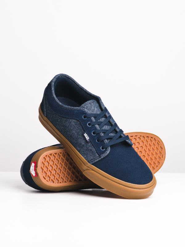 MENS CHUKKA LO DENIM - BLUE/GUM