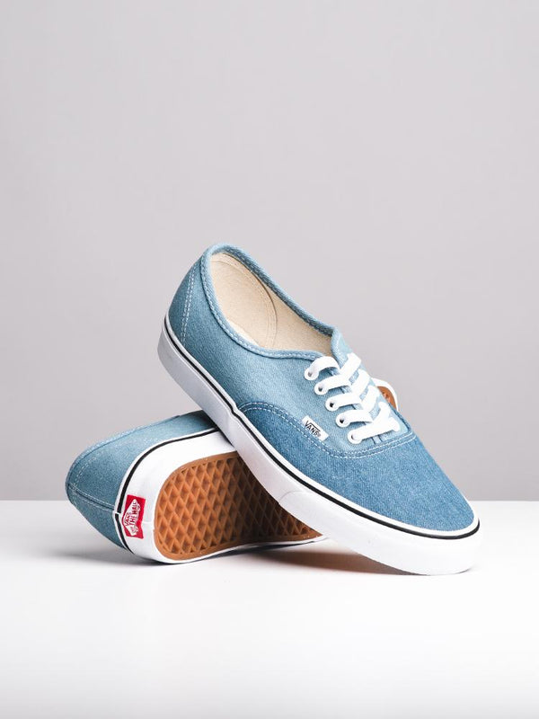 MENS AUTHENTIC TWO TONE DENIM CANVAS SHOES- CLEARANCE