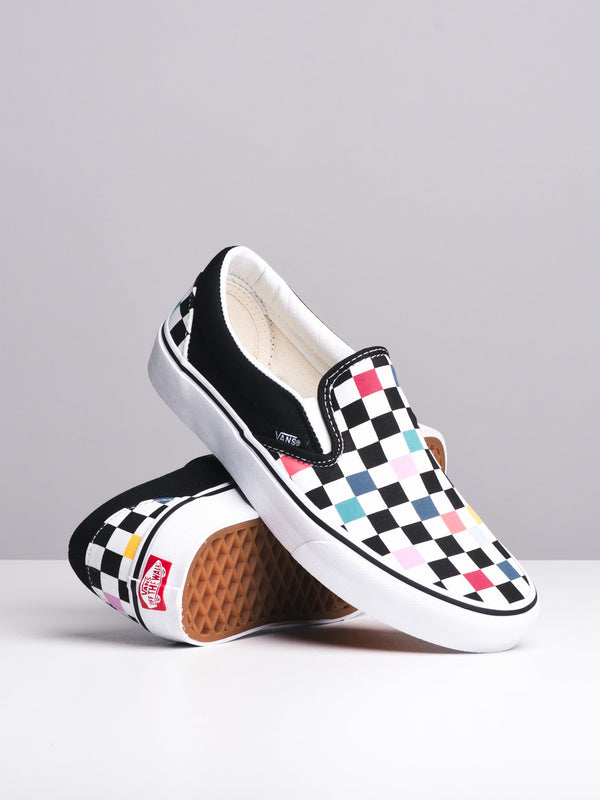 WOMENS CL SLIP ON - PARTY CHECKER