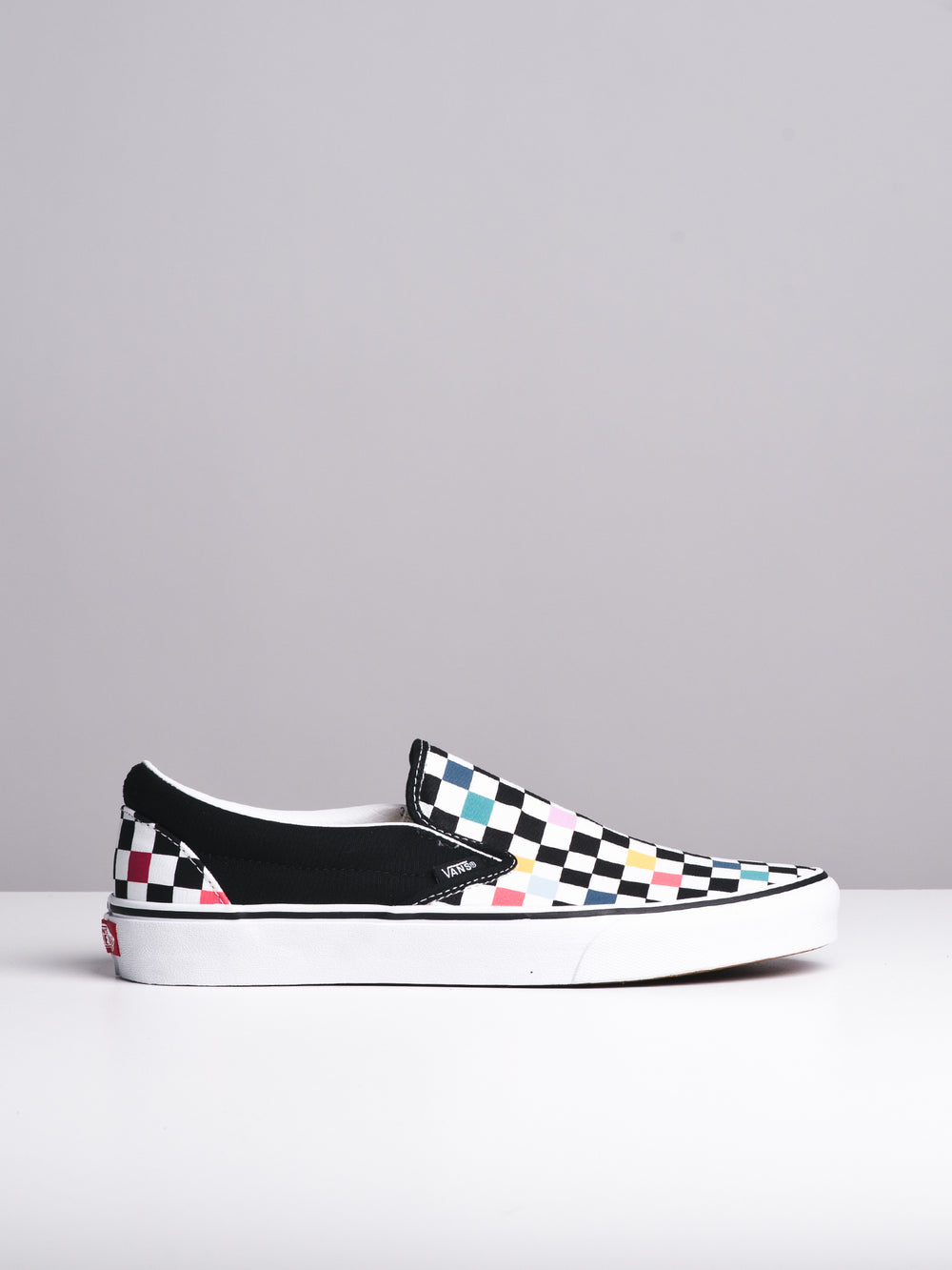 MENS CL SLIP ON - PARTY CHECKER