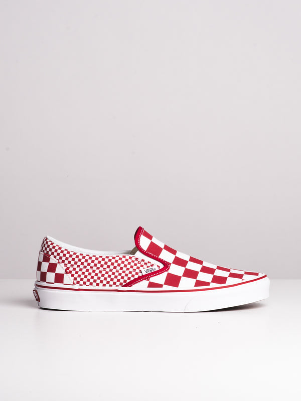 MENS CLASSIC SLIP ON - MIXED CHECK