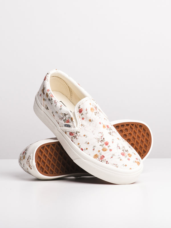 WOMENS CL SLIP ON - VINTAGE FLORAL