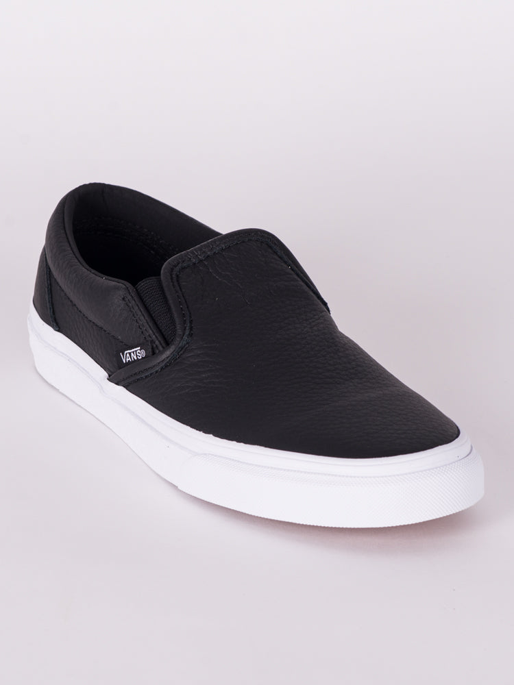 6679cbbb0f WOMENS CLASSIC SLIP ON DX LEATHER - BLACK - CLEARANCE