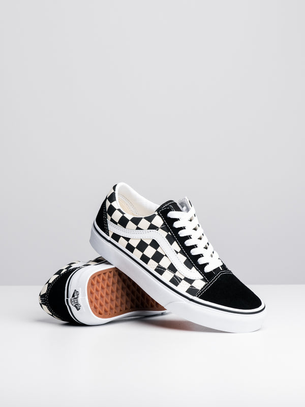 WOMENS OLD SKOOL - PRIMARY CHECKER