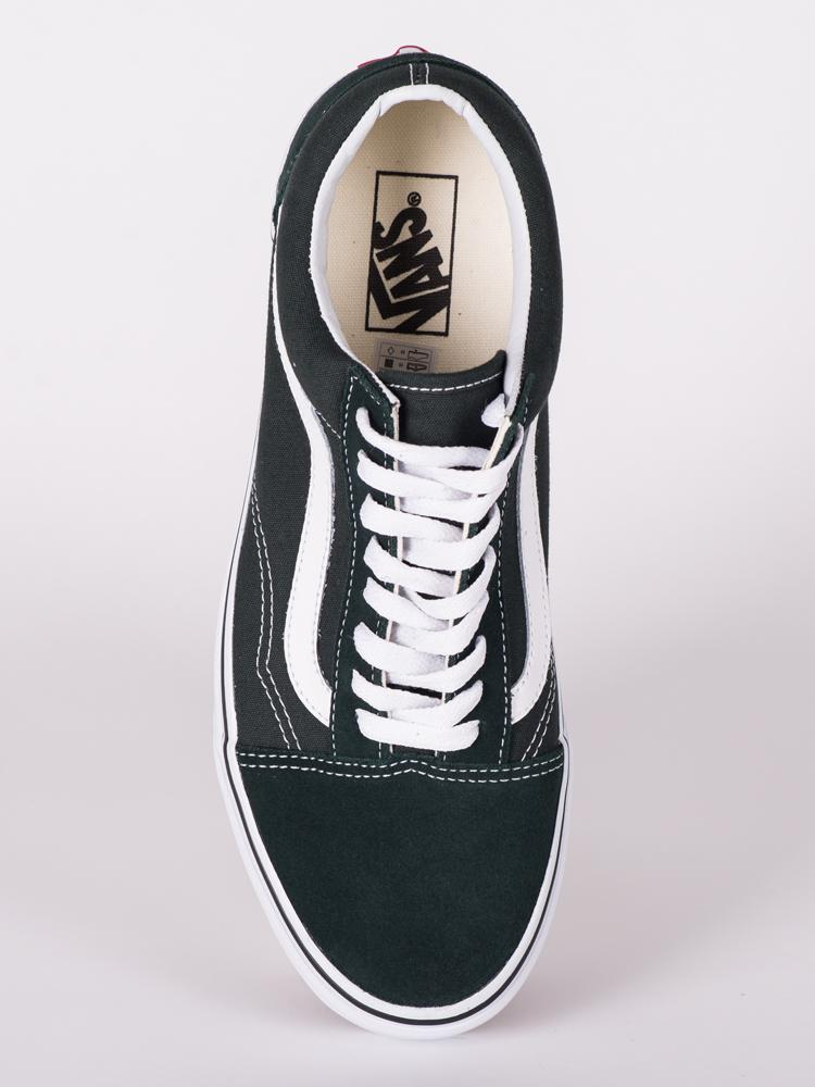 MENS OLD SKOOL SCARAB CANVAS SHOES