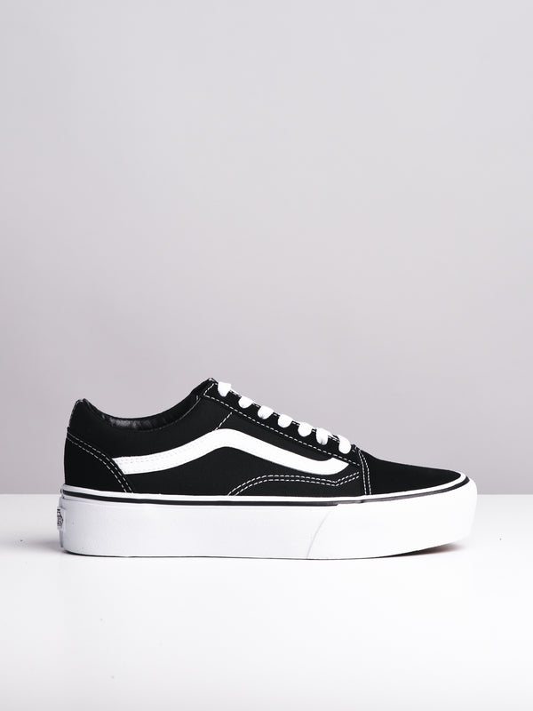 WOMENS OLD SKOOL PLATFORM CANVAS SHOES SNEAKER