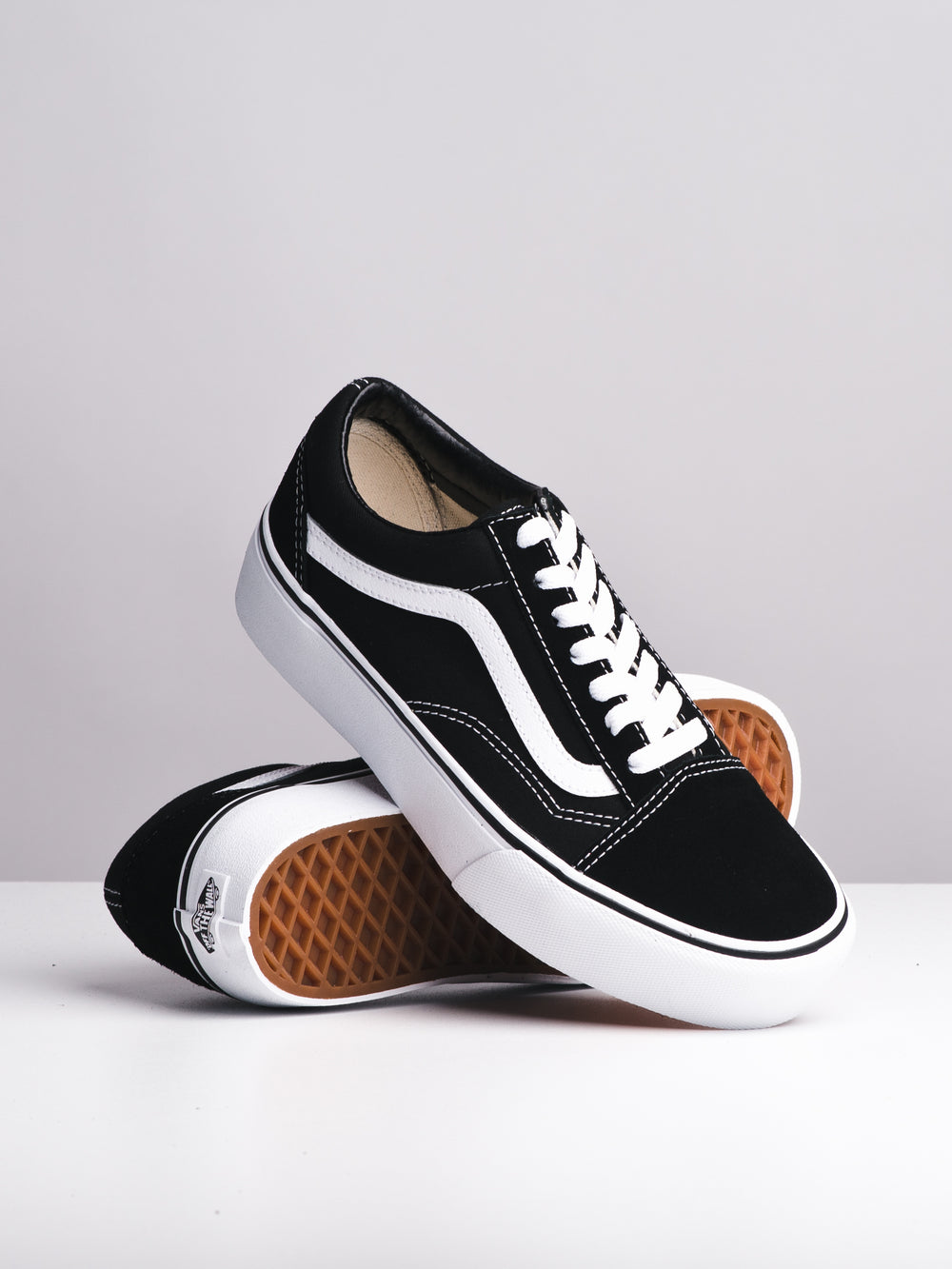 WOMENS OLD SKOOL PLATFORM CANVAS SHOES