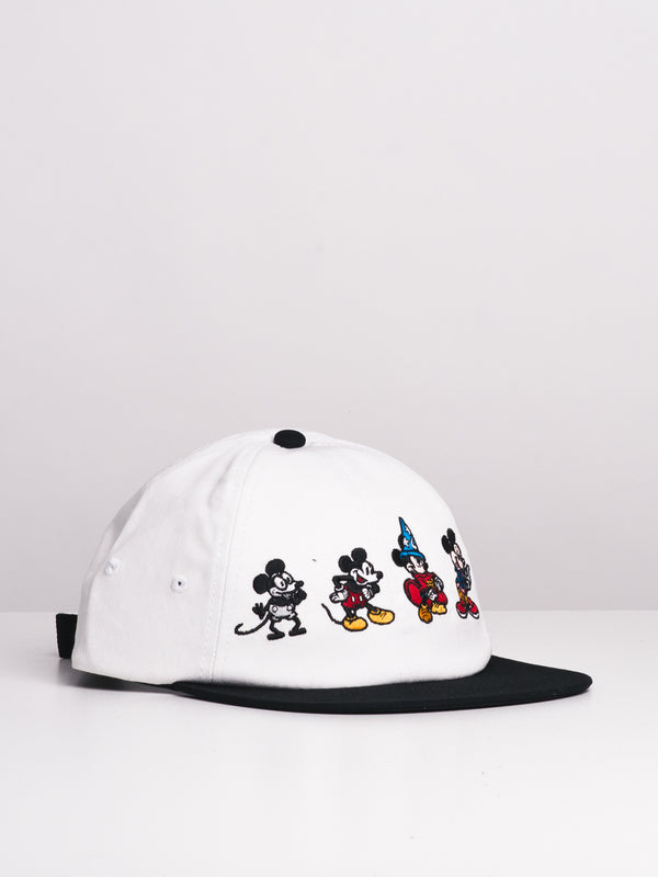 VANS DISNEY MICKEY 90TH JOCKEY HAT