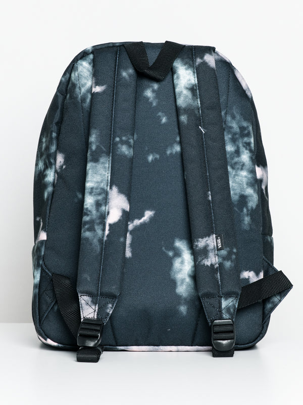 OLD SKOOL BACKPACK - BLACK TIE DYE
