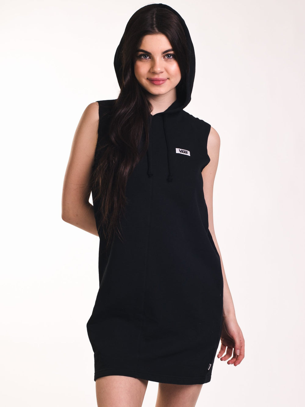 WOMENS TURF DRESS - BLACK- CLEARANCE