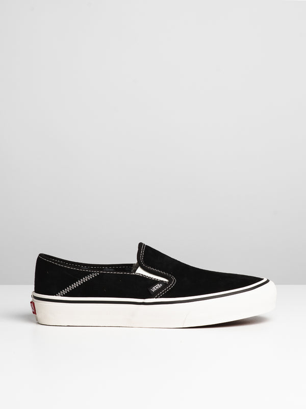 MENS SLIP ON SF - CHECKER SUEDE