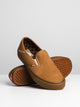MENS SLIP ON SF - CHIPMUNK SUEDE