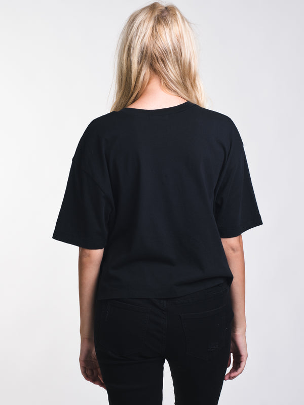 WOMENS CHROMO TOP - BLACK
