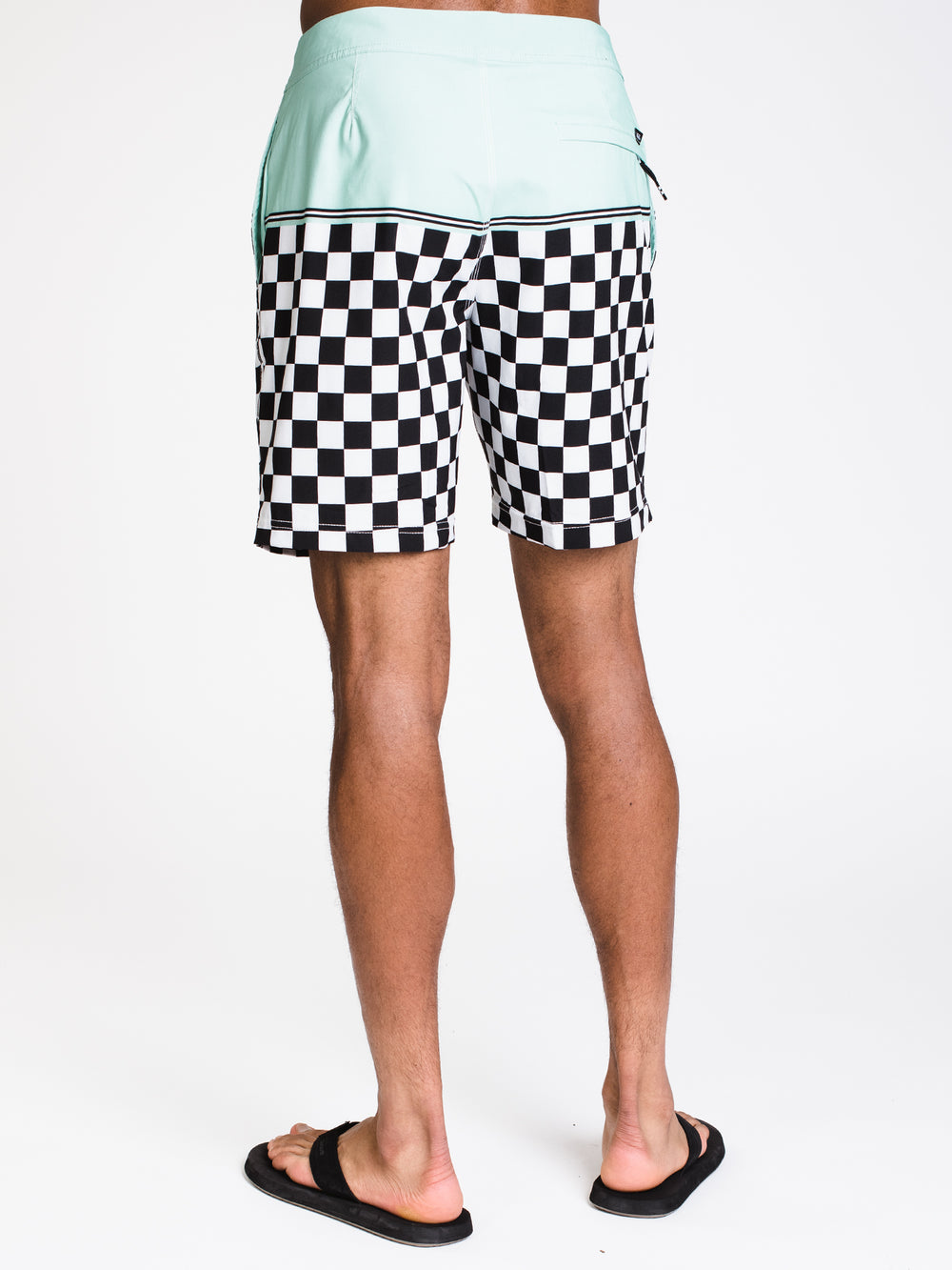 MENS NEWLAND 18' BOARDIE - CHECKER