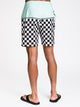 MENS NEWLAND 18' BOARDIE - CHECKER - CLEARANCE