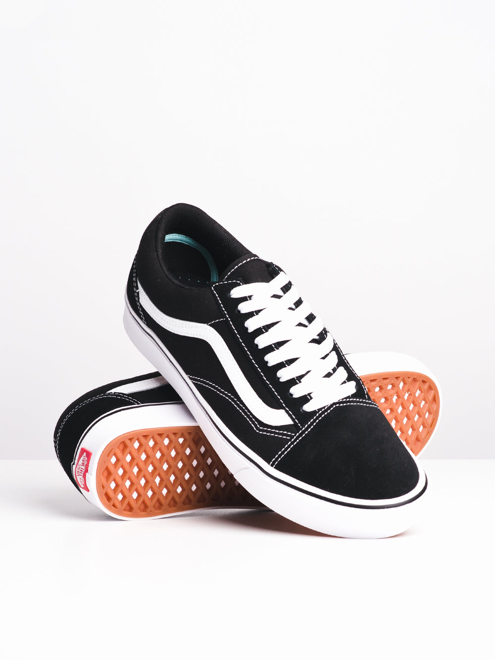 MENS COMFYCUSH OLD SKOOL - BLK/WHT