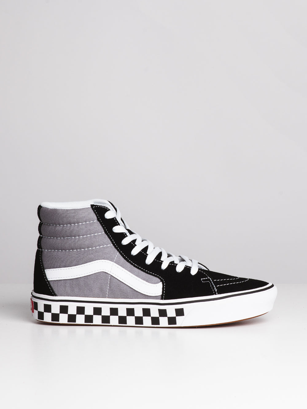 MENS COMFYCUSH SK8 HI - BLACK/GREY