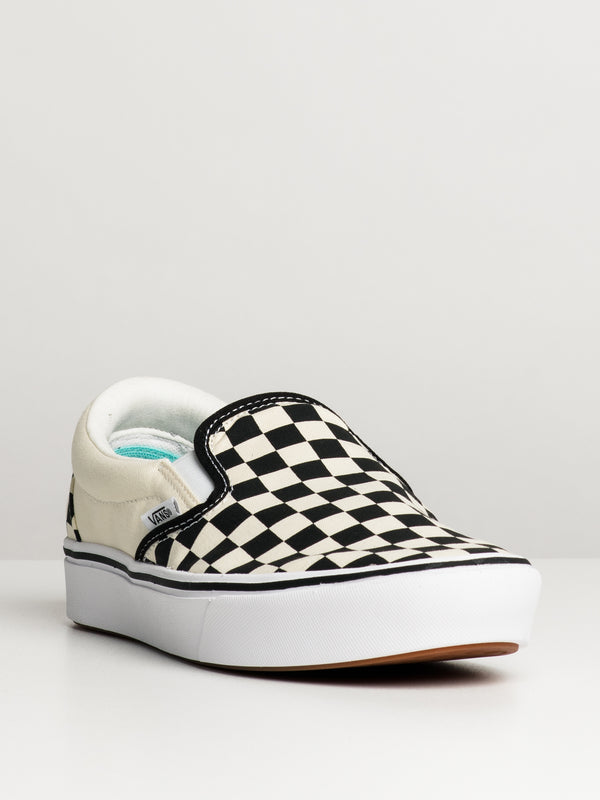 MENS COMFYCUSH SLIP ON - CHECKER