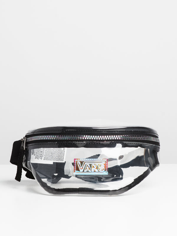 CLEAR CUT FANNY PACK - CLEAR