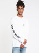 MENS BMX OTW LONG SLEEVET-SHIRT- WHITE