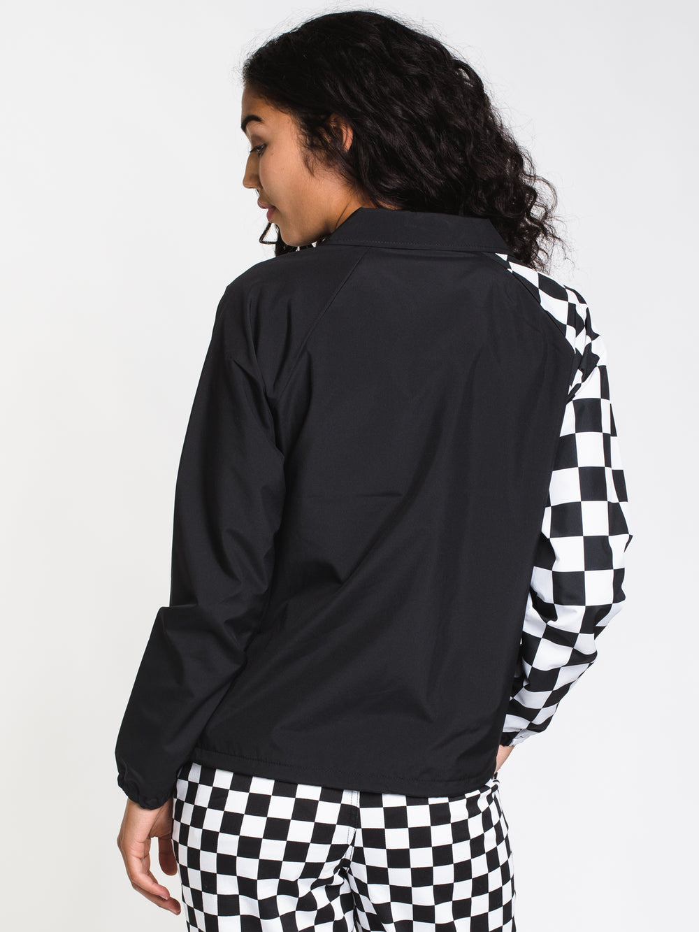 WOMENS COACH SUPERSPEEDEE JACKET - BLK
