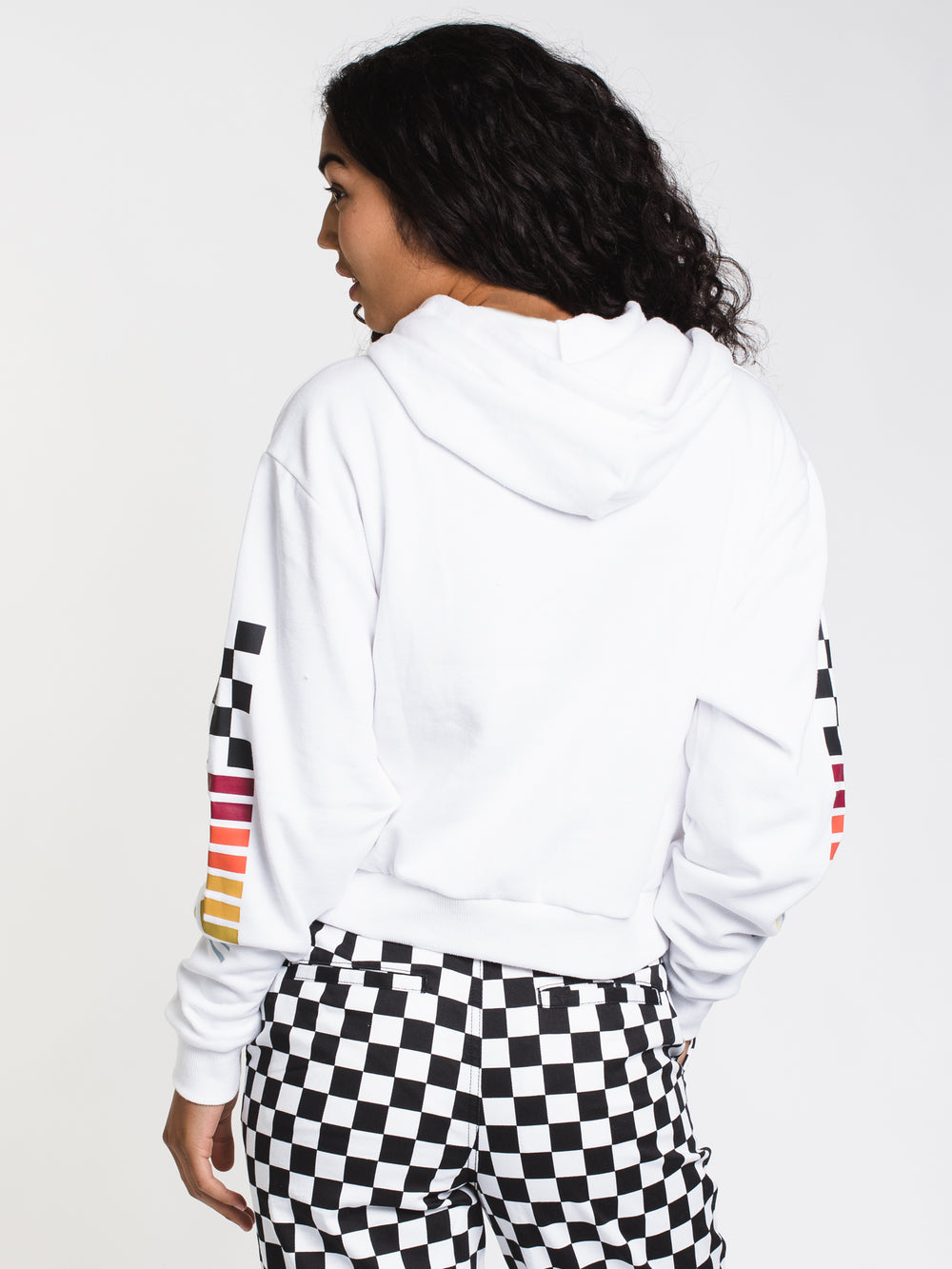 WOMENS HI PERFORMANCE PULLOVER HOODIE- WHT