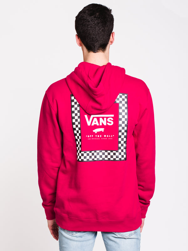 MENS CHECK BOX Pullover HOOD - JAZZY