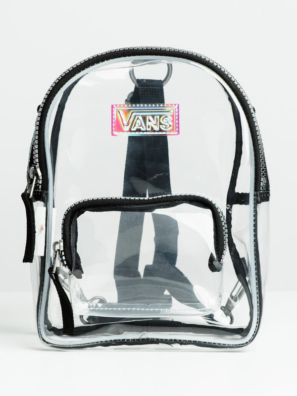 TWO TIME SHINE BACKPACK - CLEAR