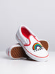 KIDS CLASSIC SLIP ON - RNBW/HEART