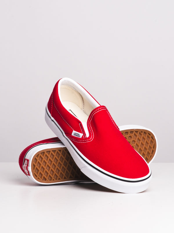 WOMENS CLASSIC SLIP-ON - RACING RED