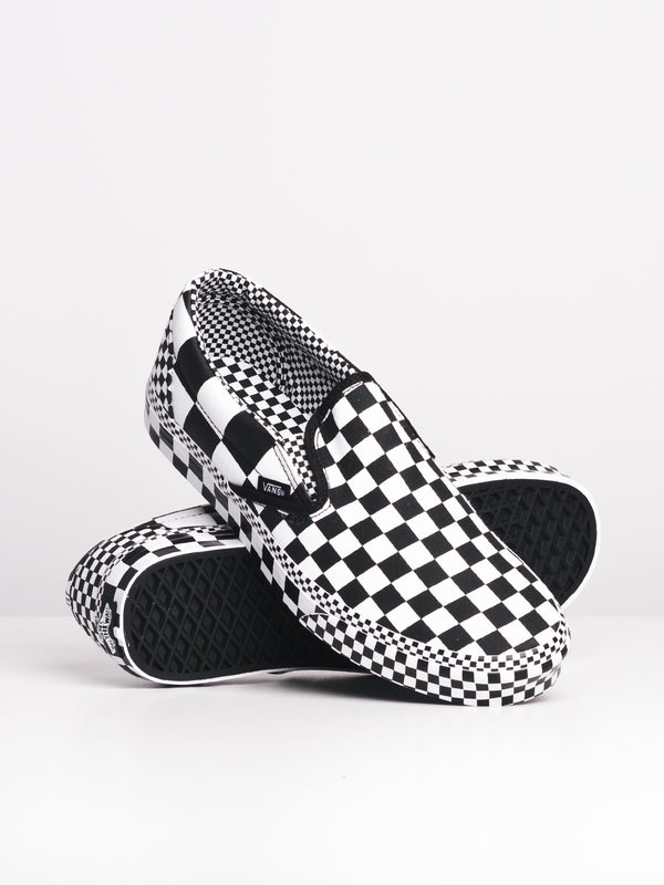 MENS CLASSIC SLIP-ON - ALL OVER PRINT CHECKER