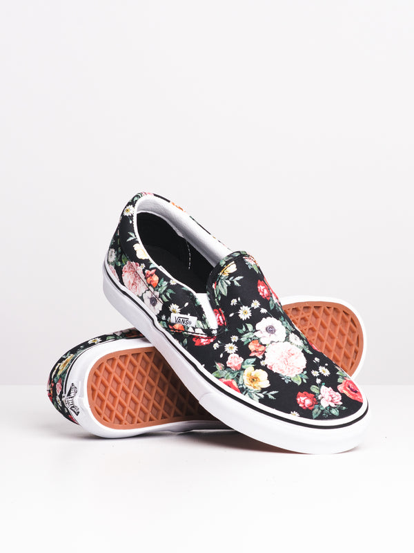 WOMENS CLASSIC SLIP-ON - GRDN FLORAL